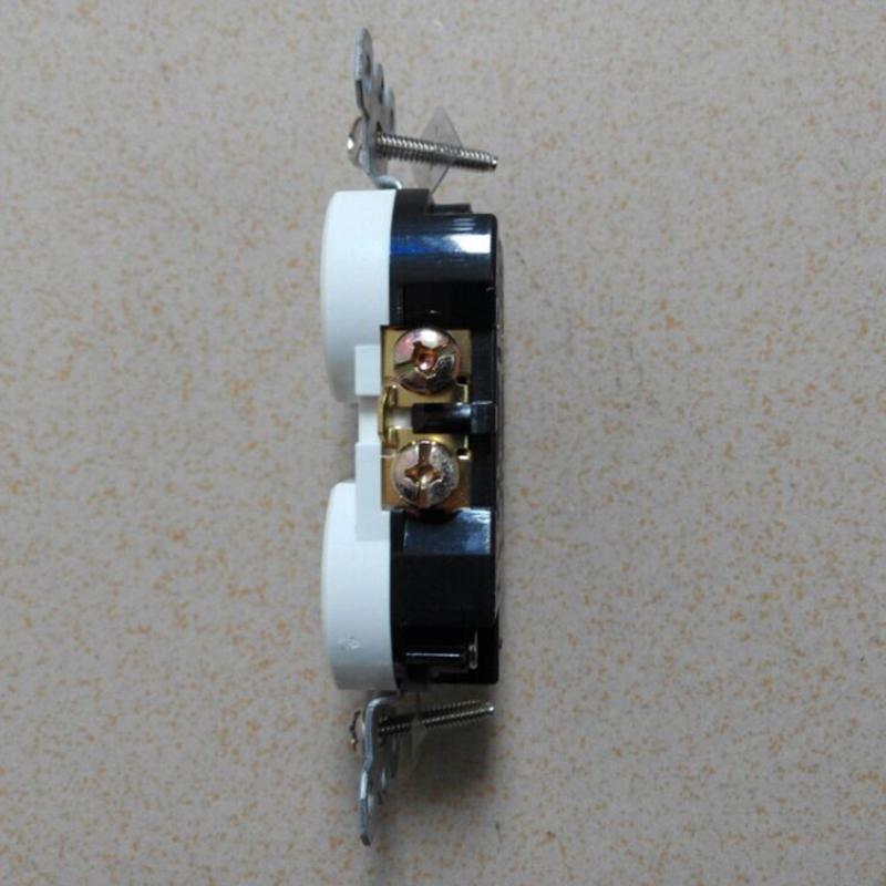 American standard socket,Duplex Receptacle, NEMA5-15 wall switch socket UL 3