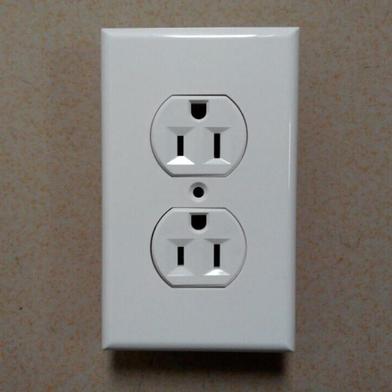 American standard socket,Duplex Receptacle, NEMA5-15 wall switch socket UL 5