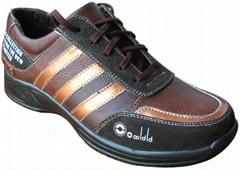 新版真皮休闲鞋
