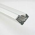 led light alu bar, led corner profile for wall solution,90° led aluminum profile 2