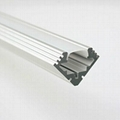 led light alu bar, led corner profile for wall solution,90° led aluminum profile