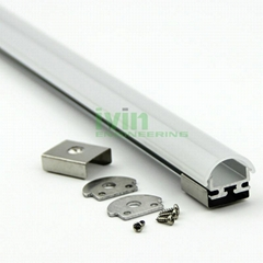 LED office light housing  LED aluminum profile light.