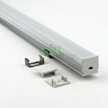 Surface mounting 10mm led profile,