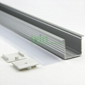LED aluminium led profile 31mm width strip fitable  aluminum heatsink