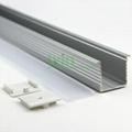 LED recessed ceiling light heatsink, LED wall recessed light housing.