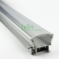 24W  LED  washwall light Fittings with opal cover wallwasher housing