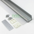 LED drop-light housing ,ceiling pendant linear light housing kit.