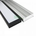Commercial led  pendant lighting housing, LED linear low bay light heat sink .