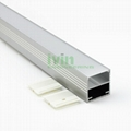 LED pendant light kit,  LED office pendant light bar, Linear suspended led light 2