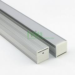 indoor ceiling LED pendant lamp heatsink, Modern LED linear pendant light.