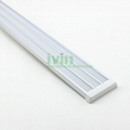 3in1 LED aluminium bar, 3 in 1 LED 3 strips linear light housing.