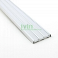 LED lighting housing, 3-in-1 LED strip ligth, 3 in 1 LED lienar profiles.