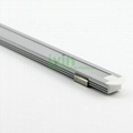 Aluminium Channel for LED Flexible Strips - Flat Recessed