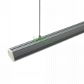LED suspended ceiling light, office drop-light , LED drop light heatsink.