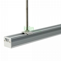 LED pendant light Profile, LED hanging light heatsink housing set.