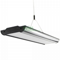 LED pendant light housing, suspended LED light heatsink