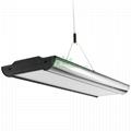LED pendant light housing, suspended LED light heatsink