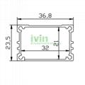 IK-3724 LED aluminum box LED driver casing