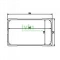 IK-8652 electronics project box aluminum controller enclosure