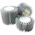 SH-265-200W LED highbay light housing set 200W factory highbay housing.