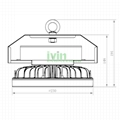 ID-230 Aluminium diecasting LED highbay lgiht housing, HIghbay light heat sink. 2