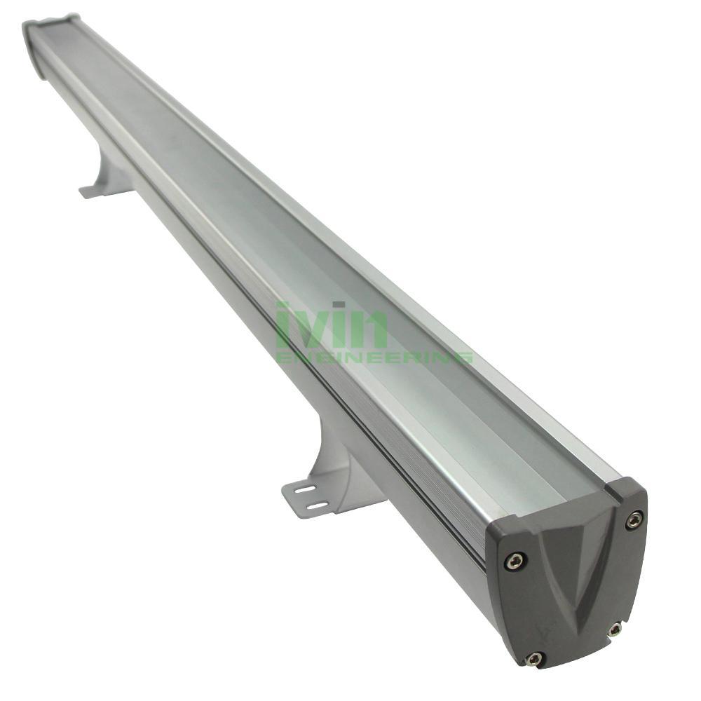 AWH-5753B 36W LED washwall light casing, LED wall wash light heatsink housing.  1