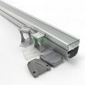 AWH-5753B 36W LED washwall light casing, LED wall wash light heatsink housing.  4