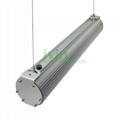 D-100-P    High-power LED pendant light housing 100W LED hanging light housing