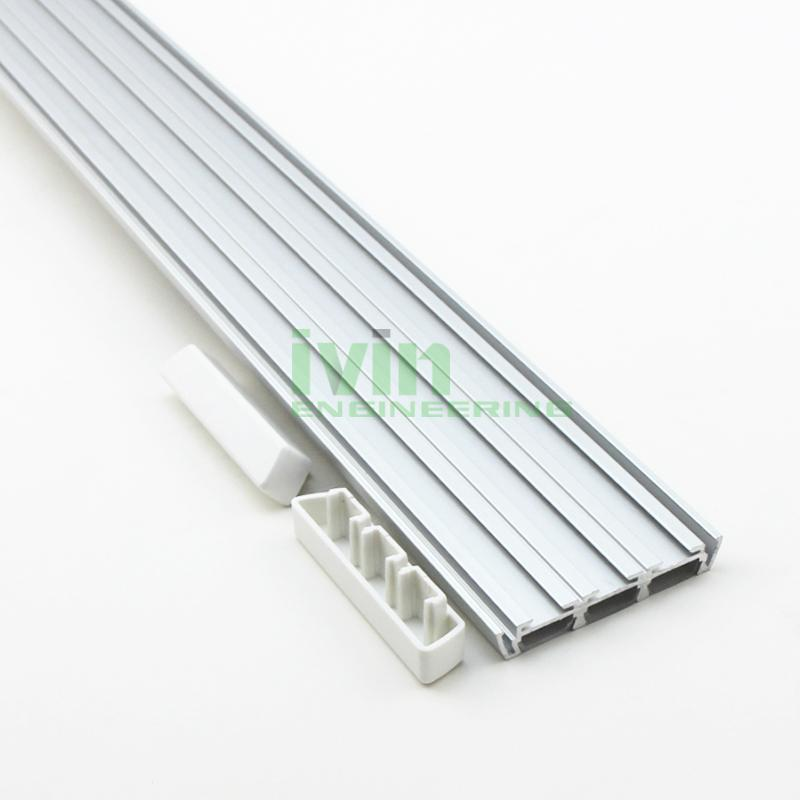 3in1 LED aluminium bar, 3 in 1 LED 3 strips linear light housing.  1