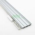 3in1 LED aluminium bar, 3 in 1 LED 3 strips linear light housing.