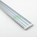 3in1 LED aluminium bar, 3 in 1 LED 3 strips linear light housing.  4