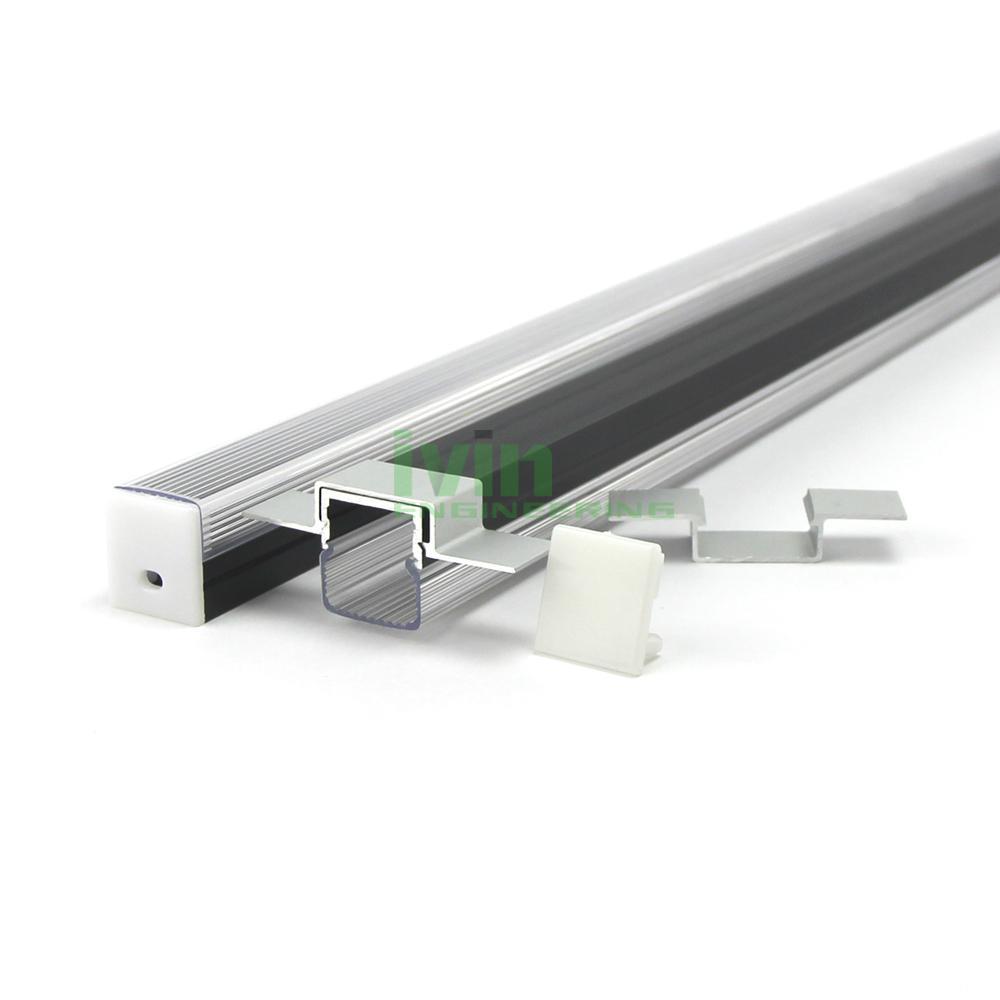 Extruded aluminum profile for led strip light, LED profiles. 4