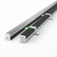 Extruded aluminum profile for led strip light, LED profiles.