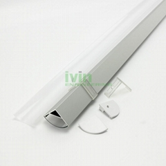 Commercial LED light housing , LED Aluminum profile