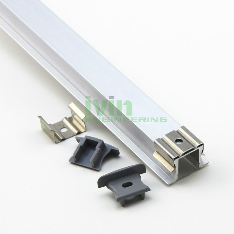 aluminium led profile,recessed aluminium profile,recessed furniture light, 5