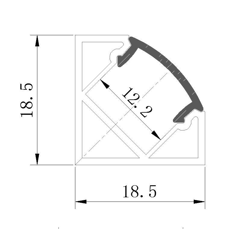 LED Linear Light Bar Fixture,LED under carbinet light bar. 3