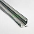led light alu bar, led corner profile for wall solution,90° led aluminum profile 4