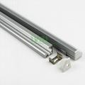 led light alu bar, led corner profile for wall solution,90° led aluminum profile
