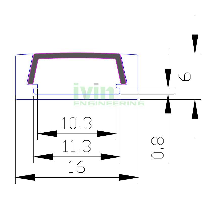 Slim Line LED Profile,Aluminum Led profile,LED aluminum channels 2