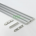 LED strip light housing, 3 in 1 LED strips LED linear light heat sink.
