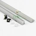LED wall corner 90° aluminium profile , 90° corner LED linear profiles.