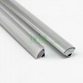 Extruded U shape aluminum profile for led strip light heat sink
