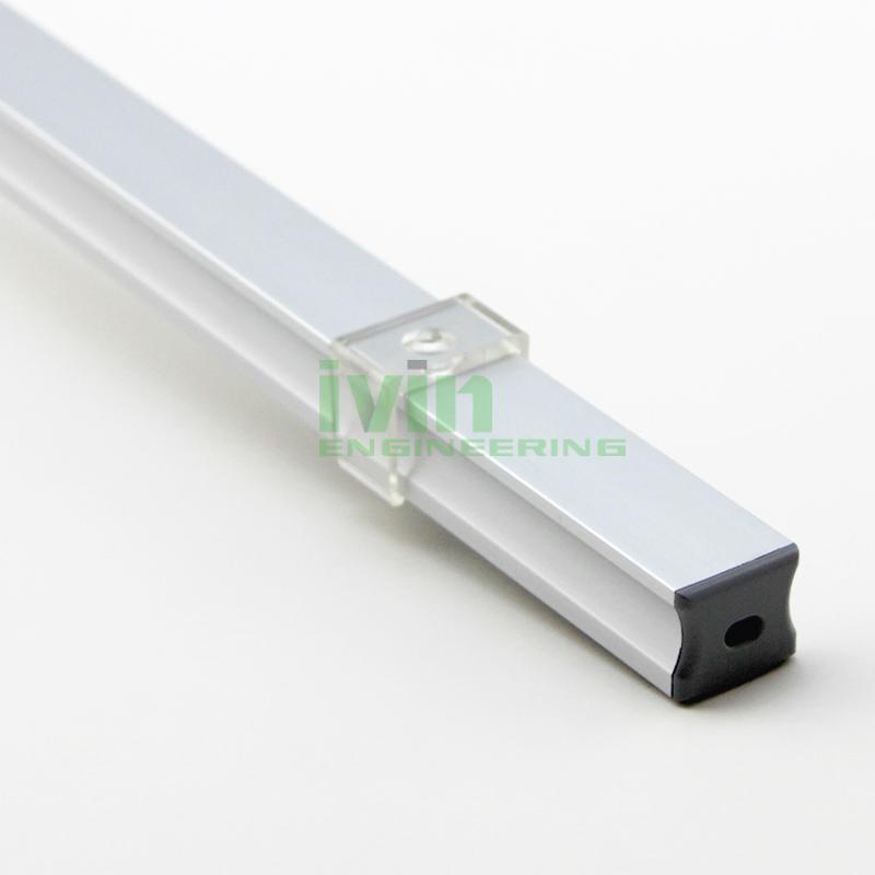 LED bar light profile, LED light channel, LED light bar housing.  4