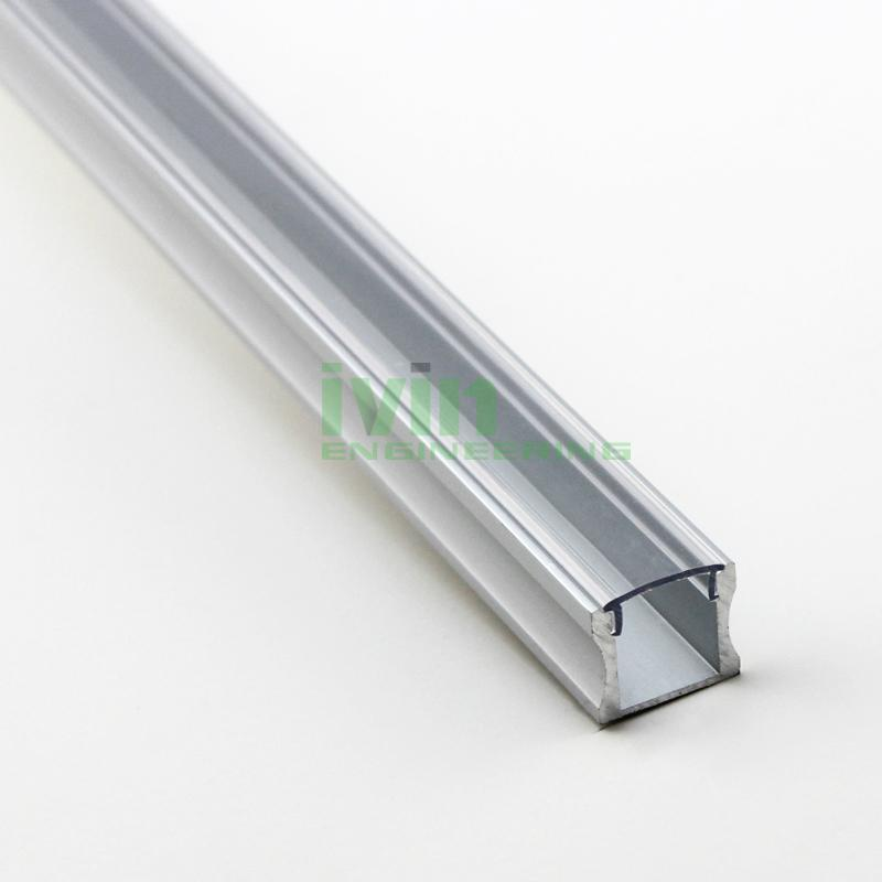 LED bar light profile, LED light channel, LED light bar housing.  6