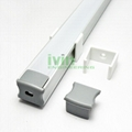 LED bar light profile, LED light channel, LED light bar housing.  7