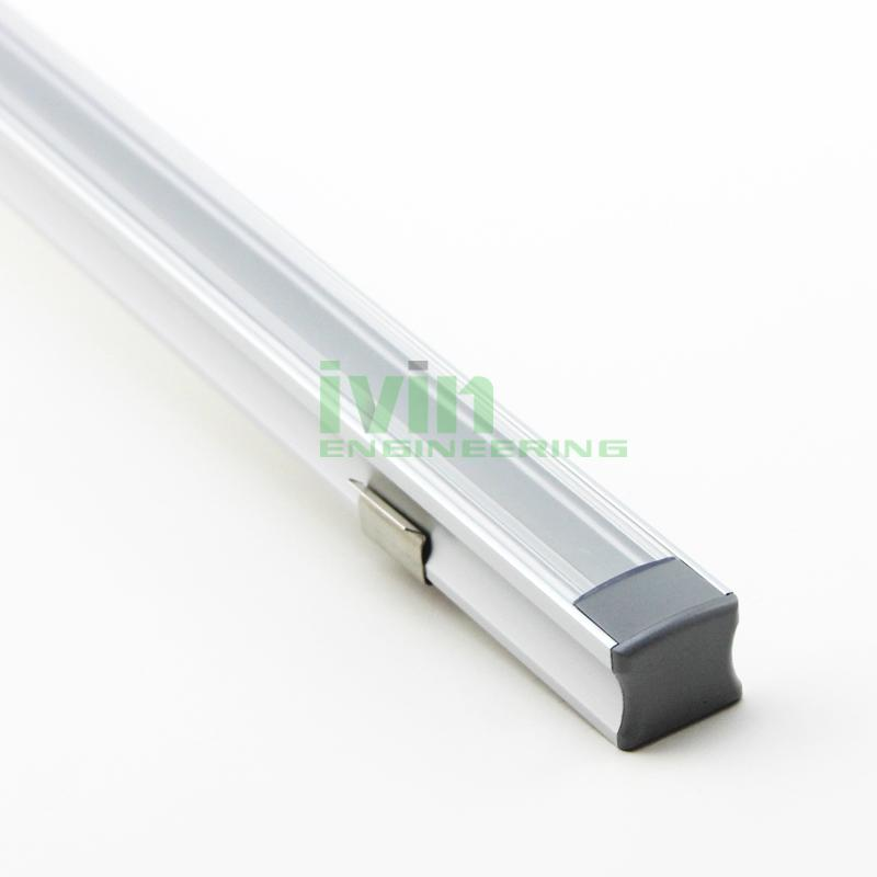 LED bar light profile, LED light channel, LED light bar housing.  1