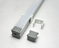 LED bar light profile, LED light channel, LED light bar housing.  8