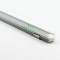 Aluminum led profile, frosted PC cover, PC diffuser, SUS304 stainss steel clips. 4