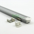 Aluminum led profile, frosted PC cover,