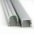LED aluminum channel,LED Profiles Extrusions, led lens profile. 4